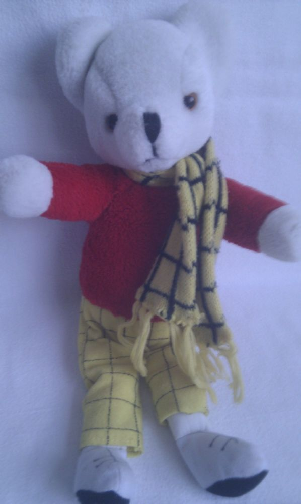 Vintage Rupert Bear Collectable Plush Toy
